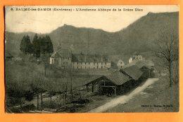 ALB123, Environs De Baume-les-Dames, Ancienne Abbaye De La Grâce Dieu,8,  Circulée 1923 - France