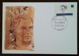CM 1993 - YT N°2802 - MARCEL PAGNOL - AUBAGNE - Cartas Máxima