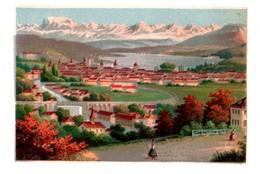 Rare Chromo Bognard Sorisi 4-3-6-2, Lucerne, Zürich, En Suisse? - Trade Cards