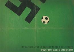 Football - Ne Laissons Pas Le Racisme Envahir Les Stades - Fussball