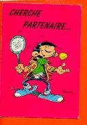 Illustrateur Franquin - Lagaffe N°182 (non écrite) (tennis) - Bandes Dessinées