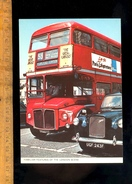 LONDON Taxi & Bus Autobus Line 53 Plumstead Common / Publicité Air France - Londres