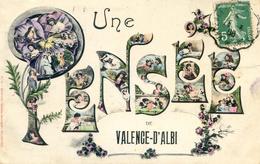 Valence D'Albigeois - Fantaisie - Une Pensée De - Valence D'Albigeois