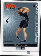 Carte Sport Pitch Pasquier Golf Feminin - Golf