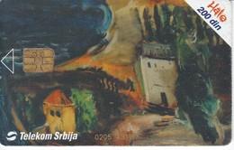 TARJETA TELEFONICA DE SERBIA DE UNA PINTURA (PAINTING) - Yugoslavia