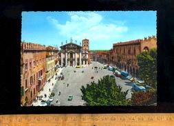 MANTOVA Lombardia : Piazza Sordello  1969 / Autobus Bus - Mantova