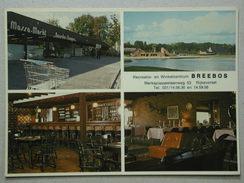 Kalender / Visitekaart Breebos Recreatie En Winkelcentrum, Rijkevorsel - Rijkevorsel