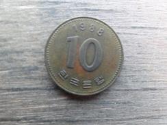 Koree Du Sud  10  Won  1988  Km 33 - Korea, South