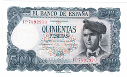 Spain 500 Pts. 1971. UNC, Rare, SEE SERIAL # . Free Ship. To USA. - [ 3] 1936-1975 : Regency Of Franco