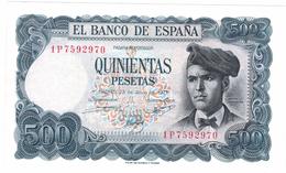Spain 500 Pts. 1971. UNC, Rare, SEE SERIAL # . Free Ship. To USA. - [ 3] 1936-1975: Regime Van Franco