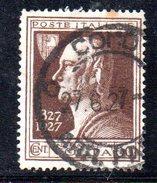 T2158 - REGNO 1927 , Cat. Sassone N. 212 . Volta - 1900-44 Vittorio Emanuele III