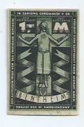Billet 1 Mark Bentheim - [ 3] 1918-1933 : République De Weimar