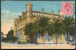 1921 Spain Zaragoza Postcard - Iceland - 1889-1931 Kingdom: Alphonse XIII