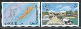 "Anguilla      "" Caribbean Develoment Bank ""   Set    SC# 931-32   MNH** - Anguilla (1968-...)"