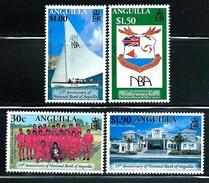 Anguilla   National Bank Of Anguilla   Set   SC# 1040-43 MNH**