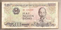 Vietnam - Banconota Circolata Da 2000 Dong - 1988 - Vietnam
