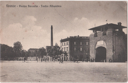 FIRENCE - ( Italie ) - Piazza Beccaria - Teatro Alhambra - Italia