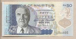 Mauritius - Banconota Circolata Da 50 Rupie - 2013 - Polimero - Mauritius