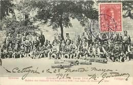 PIE-G-16-5096 : MONTENEGRO CETINJE CETTIGNE  LES HEROS DE GRAHOVATZ 1858  HELDEN DER SCHLACHT BEI GRACHOVAZ - Montenegro