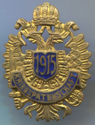 AUSTRIA - WW1, K.u.K., KRIEGSPATENSCHAFT 1915. Propaganda, Enamel, Vintage Pin, Badge, Abzeichen, 30x20mm - Militaria