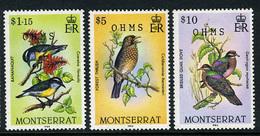 1985 - MONTSERRAT - Catg. Mi. 62+64+65 - NH - (CAT85635.3) - Montserrat