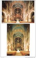 Deutschland - 2 Cards - Cham - Klosterkirche Maria Hilf - Church - Eglise - Kirche - Churches & Cathedrals