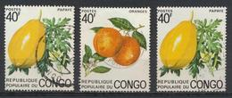 °°° REPUBBLICA DEL CONGO - Y&T N°364/65 - 1975 °°° - Congo - Brazzaville