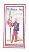 Vignette Militaire Delandre - 1er Bataillon De France - Vignettes Militaires
