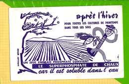 Buvard & Blotting Paper :  Apres L'Hiver  Le Superphosphate De Chaux - Agriculture