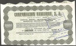 1978-BONOS CORPORACION BANLOQUE S.A.- - Banco & Caja De Ahorros