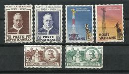Vaticano. 1959_Lote De Tres Series - Vaticano (Ciudad Del)