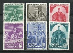 Vaticano. 1960_Año Mundial Del Refugiado. - Vaticano (Ciudad Del)