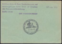 BRD, SST Alzey, Volkerstadt 1955 - Marcofilia - EMA ( Maquina De Huellas A Franquear)