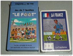 Rare Jeu De Des 7 Sept Familles NEUF, Le FOOT, Football, Ballon - Jeux De Société