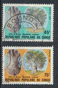 °°° REPUBBLICA DEL CONGO - Y&T N°647/48 - 1981 °°° - Congo - Brazzaville
