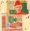 PAKISTAN        20 Rupees        P-55e         2011        UNC - Pakistan