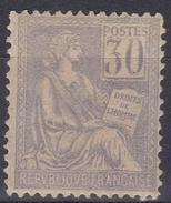France 1900 - N°115* - Mouchon - 1900-02 Mouchon
