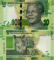 SOUTH AFRICA       10 Rand       P-138[b]       ND (2015)       UNC  [ Sign. Kganyago ] - Afrique Du Sud