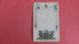 Three Wise Monkeys  =ref 2433 - Monkeys