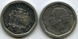 Jamaique Jamaica 5 Dollars 1996 KM 163 - Jamaica