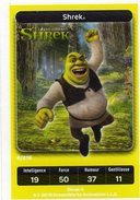 Carte Trading Card Disney Dreamworks Carrefour Shrek - Disney