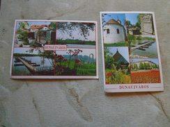 D144716 Hungary  DUNAÚJVAROS  2 Postcards - Hongrie