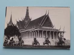 Cambodge Pittoresque P.PENH - Le Palais Du Trône ( N° 20 ) Anno 1954 ( Zie Foto Voor Details ) !! - Cambodge