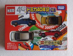 "Set : 4 Vehicles "" Tomica 40 Years "" ( Takara Tomy ) - Cars & 4-wheels"