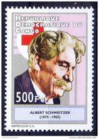 Dr Albert Schweitzer Nobel Prize, Medical Missionary Health Philosophy, Red Cross MNH Congo