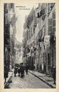 Marseille - Rue Bouterie (Rue Lacydon) - Belle Animation - Carte Non Circulée - Vieux Port, Saint Victor, Le Panier