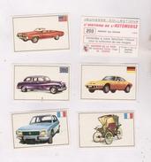 5 IMAGES HISTOIRE DE L AUTOMOBILE - Alte Papiere