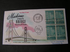 USA  Brooklyn Bridge   FDC  1983 - Enveloppes évenementielles