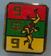 Wrestling, Ringen - BFB, BULGARIA Association, Pin Badge, Abzeichen - Wrestling