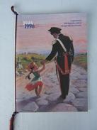 CALENDARIO STORICO ARMA CARABINIERI - ANNO 1996 (COMPLETO CORDONCINO E PALLINE) - LEGGI - Calendari